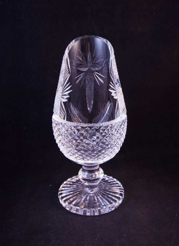 waterford crystal cut glass holy water font