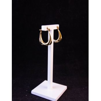 9k yellow gold square drop earrings Price includes nationwide delivery