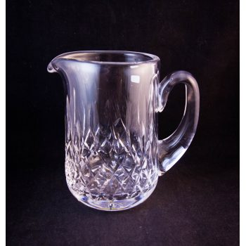 """Waterford Crystal cut glass 5.5"""" jug with an old stamp"""
