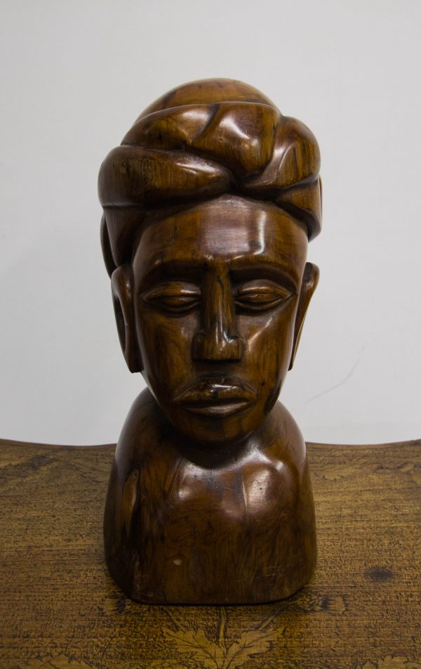 carved bust