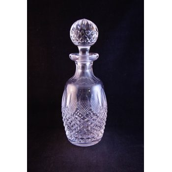 """Waterford Crystal cut glass Colleen decanter. Measures 11""""H"""