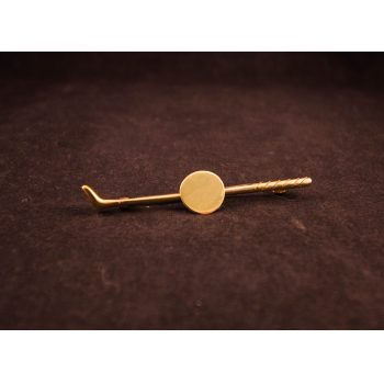 gold club pin
