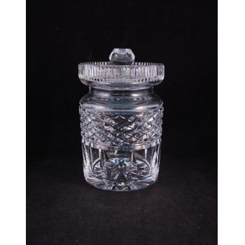 waterford crystal honey pot
