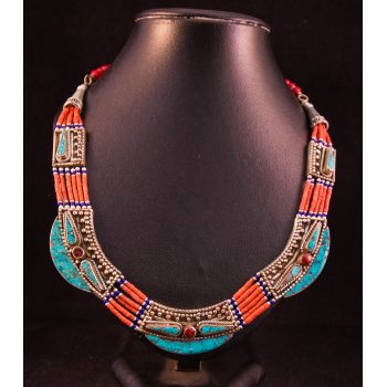 nepalese silver necklace