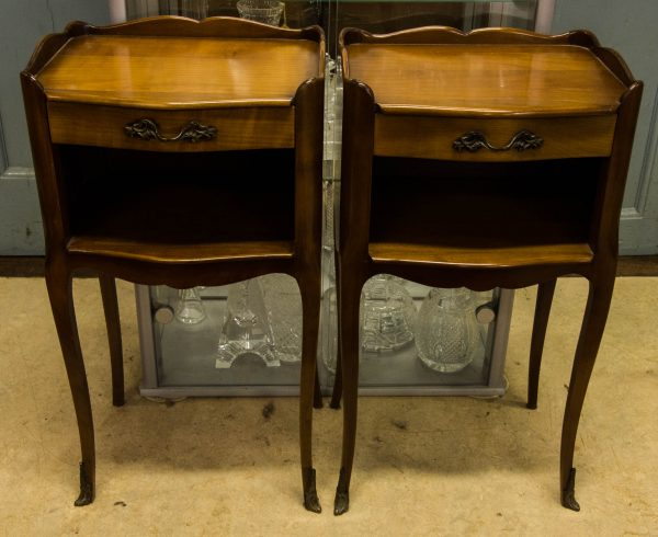 french 1950s bedside lockers