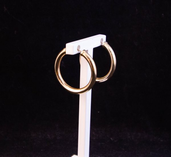 Gold plated silver hoop earrings Price includes nationwide delivery